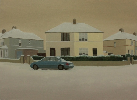 Eithne Jordan, Winter XII, 2011, Oil On Linen, 73 x 100cm
